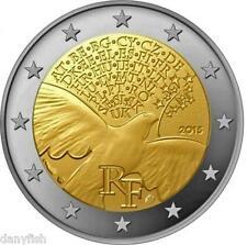 2 Euro France 2015 - 70 ans de Paix en Europe