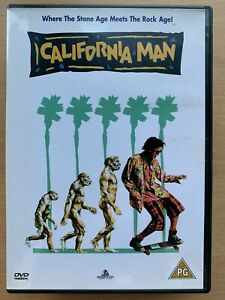 California Man DVD 1992 Encino Man Caveman Teen Comedy w/ Brendan Fraser