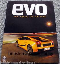 Evo Magazine Issue 104 - Lamborghini Gallardo Superleggra
