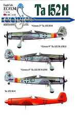 EagleCals Decals 1/48 FOCKE WULF Ta-152H Fighter Part 2