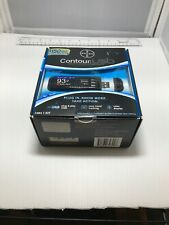 NEW*strips sealed/exp-2011 CONTOUR USB GLUCOSE MONITOR 7393 COMPLETE