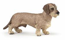Figur / Spielfigur Papo Hund - 54043 Dackel / Rauhaardackel - NEU