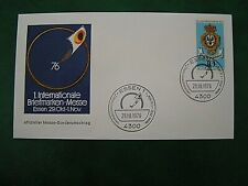 BRD - 1975,  MiNr. 866, gestempelt 29.10.76, 1. Int. Briefmarken-Messe Essen