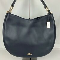 New Coach Nomad Glovetanned Leather Shoulder Bag Style 36026