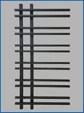 Gerade Standardanschluss Handtuchtrockner Handtuchw/ärmer Badheizk/örper SMYRNA Wei/ß 450 x 1600 mm