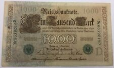 Allemagne Billet 1000 Mark 1910 Reichsbanknote 019B