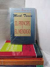 EL PRINCIPE Y EL MENDIGO - MARK TWAIN Spanish Literature Libro en Espanol