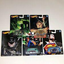 5 Car Set DC Comics Alex Ross *  Hot Wheels SET Pop Culture * WB21