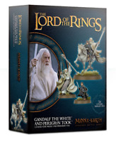 Gandalf the White and Peregrin Took - LotR - Games Workshop - New! 30-40