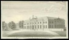 1768 ESSEX - Small Antique Engraving of MOULSHAM HALL Chelmsford (20)