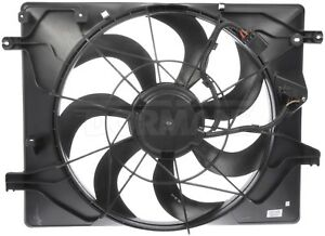 Auxiliary Fan Assembly For 2010-2012 Hyundai Genesis Coupe 3.8L V6 2011 Dorman