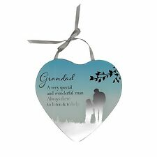 Grandad A Very Special Man- Reflections from the Heart Mirrored Hanging Plaque
