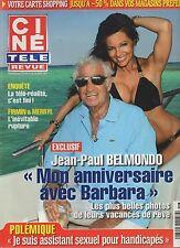 CINE REVUE (belge) 2011 N°16 jean-paul belmondo michelle rodriguez