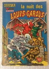 Dracula le Vampire : La nuit des loups-garous Edition Française 1980