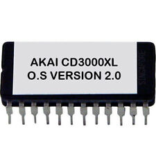AKAI CD3000XL Operating System 2.0 EPROM upgrade latest OS