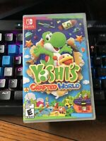 Yoshi's Crafted World Nintendo Switch New Sealed Ready To Ship Fast!