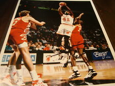 Glenn Rice Autograph / Signed 8 x 10 Photo Miami Heat