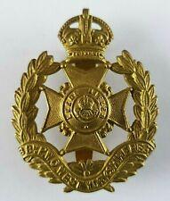 WW1 P.W.O West Yorkshire - Leeds Rifles Cap Badge - Slider to Rear - KC