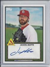 JASON MOTTE 2011 TOPPS LINEAGE 1952 STYLE CARDINALS AUTO