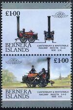 1830 Invicta (Canterbury & Whitstable Railway) Train Stamps (Bernera)