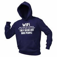 Wifi Went Down For 10 Minutes Funny Hoodie Graphic Game Novelty Hoody Sweater