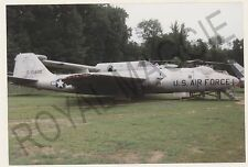 Colour print of USAF RB57A Canberra 52-1488 at Hartford CT in 1995
