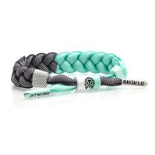 Brand New RASTACLAT Julip Mint Gray Braided Shoelace Bracelet