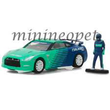 GREENLIGHT 97020 D 2015 NISSAN SKYLINE GT-R R35 FALKEN 1/64 with RACE CAR DRIVER
