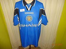 """Manchester United Original umbro Ausweich Trikot 1996/97 """"SHARP"""" Gr.XXL TOP"""
