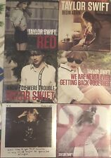 Taylor Swift 6 CD single lot Red, 22, Begin Again, I Knew You Were Trouble +++