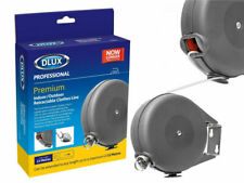 Dlux Retractable Clothes Line 15M Outdoor / Indoor Wall Mounted Laundry Washing