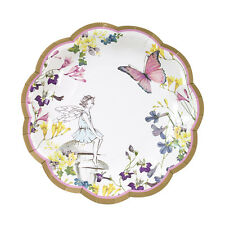 12 Vintage Style Pretty Fairy Plates Afternoon Tea Small Paper Party Plates