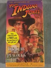 The Adventures Of Young Indiana Jones Treasure Of The Peacock's Eye VHS