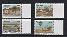 Namibia Postage Stamps 1991 Tourism Set Marg MNH Clean & Fresh (4v)