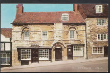Lincolnshire Postcard - The Jew's House, Lincoln     RS2294