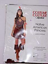 Size Large Women's Western Fringe Halter Dress Costume Cosplay Halloween Sexy
