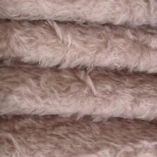"1/4 yd 325S/C Lilac Intercal 5/8"" Semi-Sparse Curly German Mohair Fur Fabric"