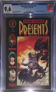 Dark Horse Presents #36 CGC 9.6 WP 1990 (1st Aliens vs. Predator)