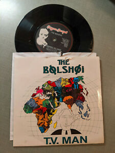 The Bolshoi 45 T.V. Man/Strawberries and Cream Beggars Banquet BEG 197 1987 PS