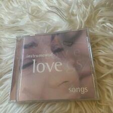 INSTRUMENTAL LOVE SONGS CD.