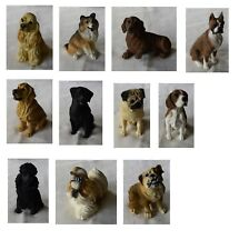Dog Breeds Small Figurines by Encore