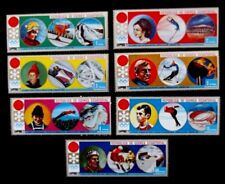 Equatorial Guinea-1972-Olympic Games-Sapporo-Full set-MNH