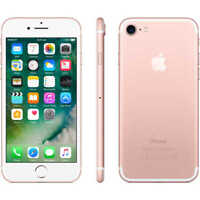NEW(OTHER) ROSE GOLD VERIZON GSM UNLOCKED 128GB APPLE IPHONE 7 SMART PHONE JQ82