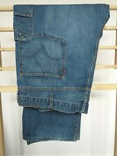 Mens Levis Jeans 52 Waist 32 Length Carpenter Loose Straight