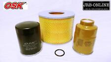 suits TOYOTA DYNA 300 BU88 DIESEL 3.7L 14B OIL AIR FUEL FILTER SERVICE KIT 88-95