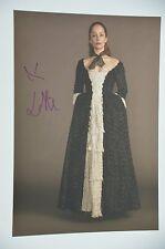 Lotte Verbeek signed 20x30cm Outlander Foto Autogramm / Autograph in Person