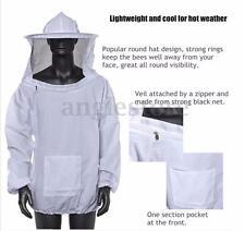 Beekeeping Beekeeper Protective Equipment Veil Smock Suit Jacket Hat Long Cuff