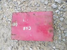 Farmall Cub Lo Low Boy LB tractor IH tool box for deluxe seat frame
