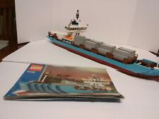 Lego 10152 Maersk Sealand Line Container Ship boat vessel cargo