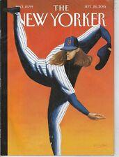 SEPT 26 2016 NEW YORKER magazine BASEBALl - NY METS - Syndergaard september